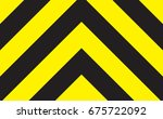 line yellow and black color.   Shutterstock .eps vector #675722092