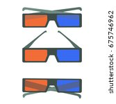 flat colorful vector set of... | Shutterstock .eps vector #675746962