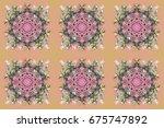 design. stock raster... | Shutterstock . vector #675747892