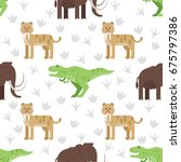 vector flat style colorful... | Shutterstock .eps vector #675797386