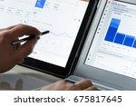 krynica zdroj  poland   july 11 ... | Shutterstock . vector #675817645