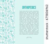 orthopedic and trauma...   Shutterstock .eps vector #675836962