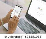bangkok. thailand. june 9 ... | Shutterstock . vector #675851086