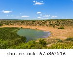 addo elephant national park... | Shutterstock . vector #675862516