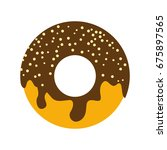 donuts flat icon. you can be...