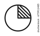 pie chart | Shutterstock .eps vector #675911485