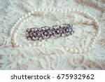vintage tenderness wedding... | Shutterstock . vector #675932962