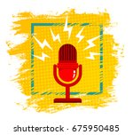 vintage vector illustration of... | Shutterstock .eps vector #675950485