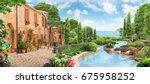 sea view   Shutterstock . vector #675958252