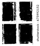 ink brush frames texture ...   Shutterstock . vector #675992152