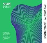 minimal cover. future geometric ...   Shutterstock .eps vector #676035562
