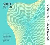 minimal cover. future geometric ...   Shutterstock .eps vector #676035646