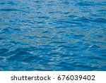 abstract blue water sea for... | Shutterstock . vector #676039402
