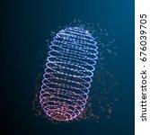 illustration of medicine pill.... | Shutterstock . vector #676039705