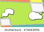 vector mock up of a typical... | Shutterstock .eps vector #676063096