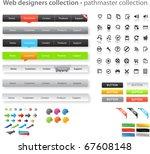 web designers toolkit  ... | Shutterstock .eps vector #67608148