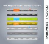 web designers toolkit  ... | Shutterstock .eps vector #67609933