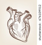vector medical heart icon on... | Shutterstock .eps vector #676109512