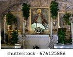 mijas  andalucia spain   july 3 ... | Shutterstock . vector #676125886