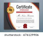 multipurpose modern... | Shutterstock .eps vector #676129906