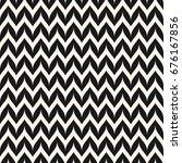 vector zigzag chevron seamless... | Shutterstock .eps vector #676167856