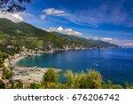 italy. cinque terre  unesco... | Shutterstock . vector #676206742