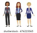 vector illustration with... | Shutterstock .eps vector #676223365