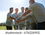 volunteering  charity  people ... | Shutterstock . vector #676226902