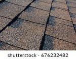 close up view on asphalt... | Shutterstock . vector #676232482