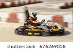 go kart speed rival outdoor... | Shutterstock . vector #676269058