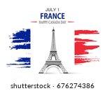 bastille day. vector background.   Shutterstock .eps vector #676274386