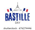 bastille day. vector background.   Shutterstock .eps vector #676274446
