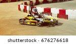 go kart  karting speed rival... | Shutterstock . vector #676276618