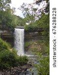minnehaha falls | Shutterstock . vector #676288228