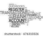quickbooks doesn t balance text ... | Shutterstock .eps vector #676310326