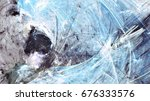 abstract beautiful blue  grey... | Shutterstock . vector #676333576