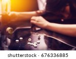 overdose   drug addiction...   Shutterstock . vector #676336885