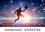 active life position . mixed... | Shutterstock . vector #676353766