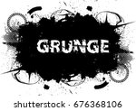 grunge banners  insignias... | Shutterstock .eps vector #676368106