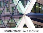 new building in london... | Shutterstock . vector #676414012