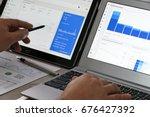 krynica zdroj  poland   july 11 ... | Shutterstock . vector #676427392