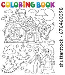 Coloring Book Hansel And Grete...