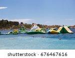 makarska croatia 18 june 2017 ... | Shutterstock . vector #676467616