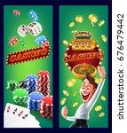 casino frame | Shutterstock .eps vector #676479442