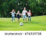Cute Happy Multiethnic Kids...