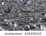 roofs of buildings of the18th... | Shutterstock . vector #676550125