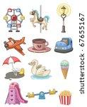 cartoon playground icon | Shutterstock .eps vector #67655167
