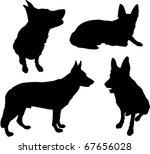 Stock vector dog 67656028