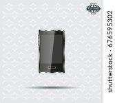 realistic vector smartphone... | Shutterstock .eps vector #676595302