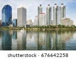 bangkok  thailand   july 10 ... | Shutterstock . vector #676642258